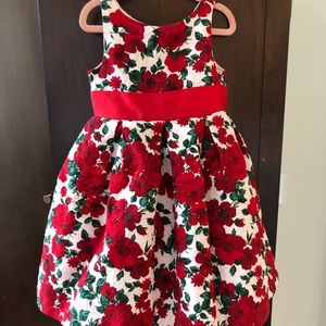 Size 4 Janie and Jack Girls Holiday Dress